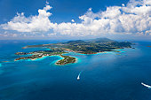 East End of St. Thomas in US Virgin Islands