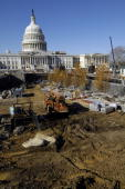 East Front of the US Capitol from the new CVC site still under construction