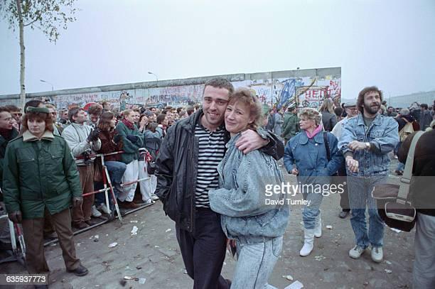 East Germans Entering West Germany