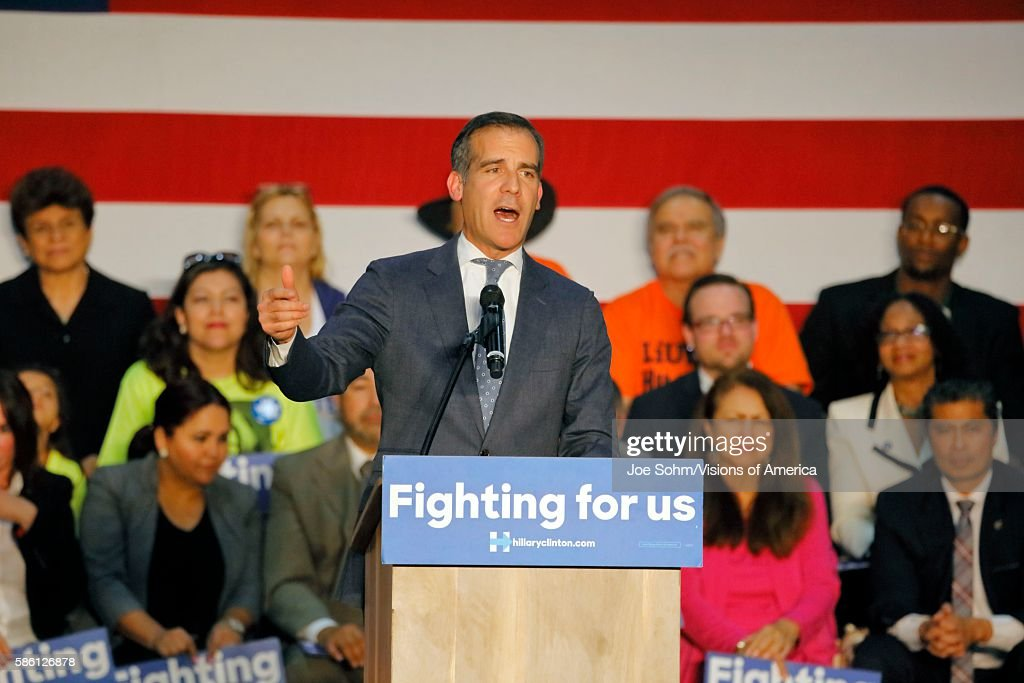 East Los Angeles College Monterey Park CA Cinco de Mayo Los Angeles Mayor Introduces former Secretary State Hillary Clinton Addresses Mostly Latino...