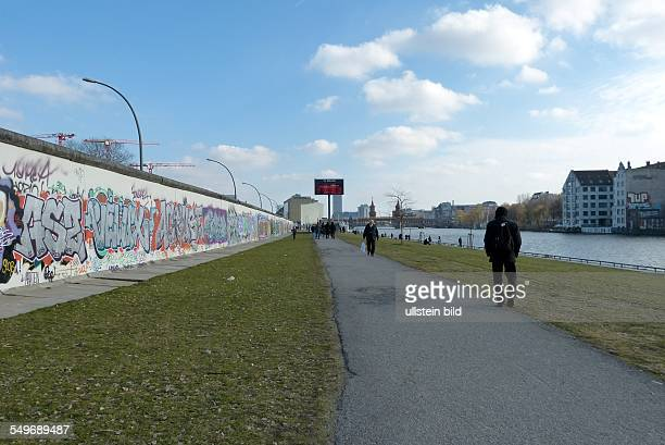 East Side Gallery Berlin former Berlin Wall border between East and West