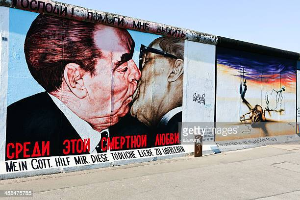 East Side Gallery wall of Berlin Germany