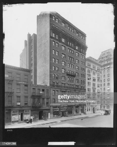 East side of Seventh Avenue New York New York 1920s