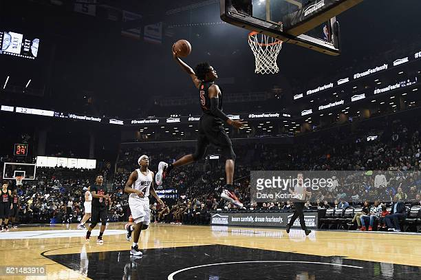 East Team MVP De'Aaron Fox in action during the 15th iteration of the Jordan Brand Classic at Barclays Center on April 15 2016 in New York City