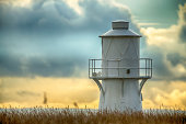 East Usk Lighthouse, situated on the RSPB Reserve Newport Wetlands, is installed with a Dalen sun valve, and is maintained and operated by Trinity House, who are responsible for all lighthouses in the
