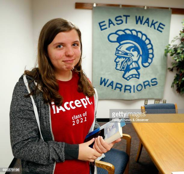 East Wake High School valedictorian Megan Faircloth spoke at a recent awards ceremony about being homeless during her junior year She persevered...