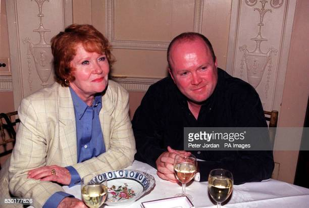 Eastenders actor Steve McFadden at the first night of a recast 'Beauty and the Beast' musical at the Dominion Theatre in Tottenham Court Road London