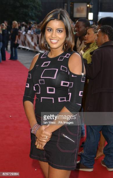 EastEnders actress Pooja Shah arrives for the Disney Channel Kids Awards 2004 held at the Royal Albert Hall central London