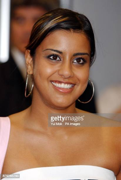 Eastenders actress Pooja Shah arrives for the UK premiere of Dodgeball at the Odeon Kensington in west London