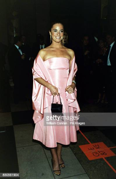 Eastenders actress Tamzin Outhwaite at the Jimmy Choo Couture Gala Evening in aid of Tommy's Campaign at the Victoria and Albert Museum London