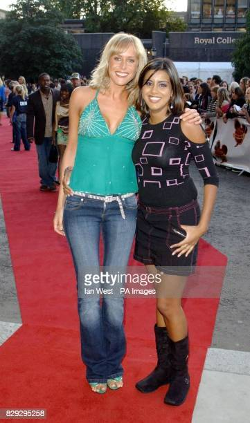 EastEnders actresses Jemma Walker and Pooja Shah arrive for the Disney Channel Kids Awards 2004 held at the Royal Albert Hall central London