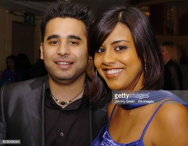 Eastenders stars Ameet Chana and Pooja Shah at the Asian Women of Achievements Awards held at the Park Lane Hilton in central London The evening the...