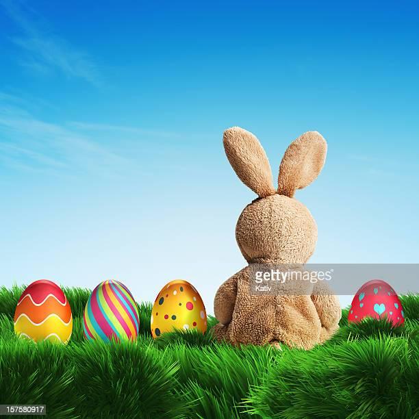 Coniglietto di Pasqua e uova (XXXL