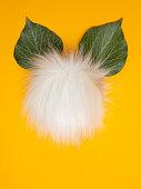 Stilisierte Ostern Hase.