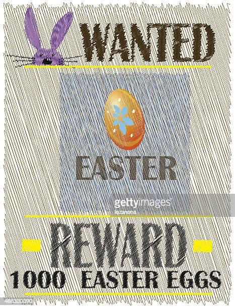 イースターのウサギ(復活祭の背景にてリワード)