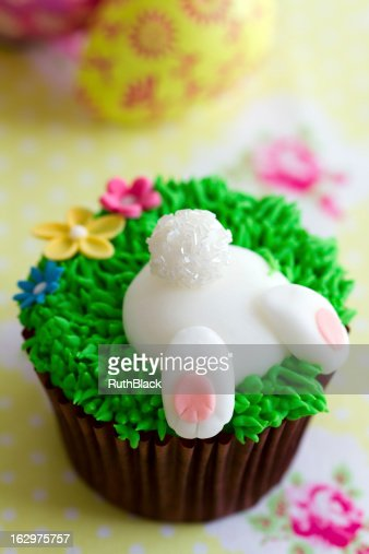 Easter cupcake : Stock Photo