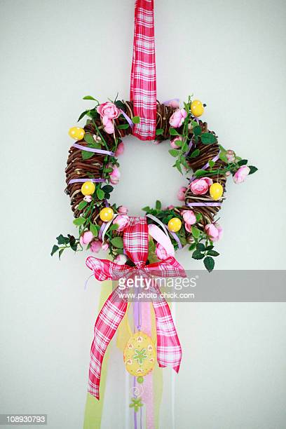 Easter Decoration. Easter wreath