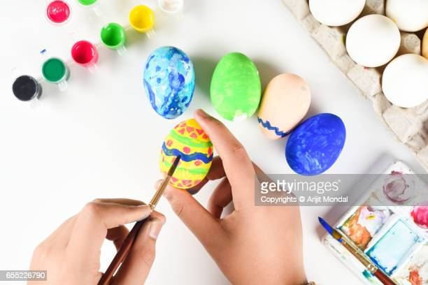 Easter Eggs Coloring for Easter Holidays Celebration