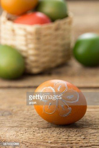 Huevos de Pascua : Foto de stock