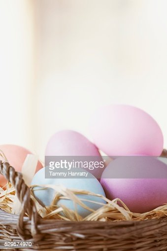 Easter Eggs : Stockfoto