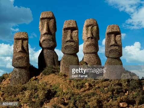 Easter Island Heads forward frown