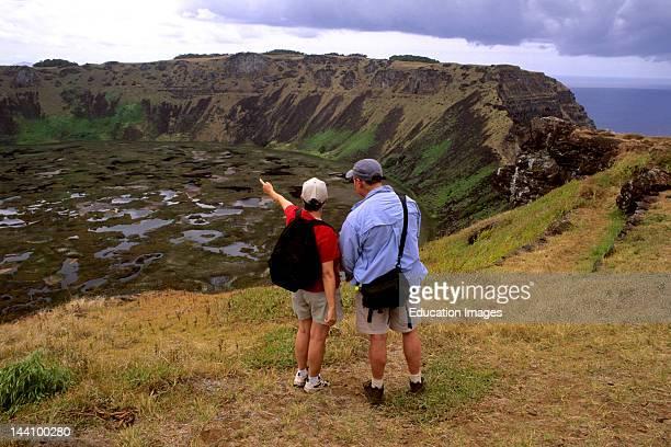 Easter Island Rano Kau Crater