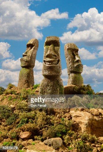Easter Island Smiling Head