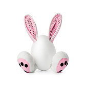 Easter Plush Bunny - humor fun rabbit egg