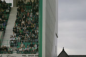 Easter Road stadium Edinburgh pictured as Premier League side Hibernian take on Division Two newcomers Peterhead in the CIS Insurance Cup second...