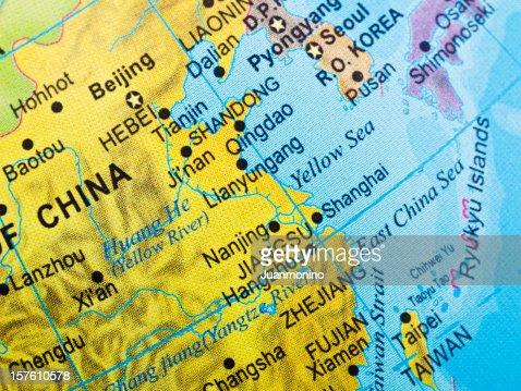 中国の東海岸