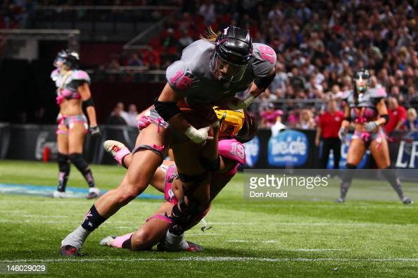 Games two of the allstar lingerie football league tour at allphones