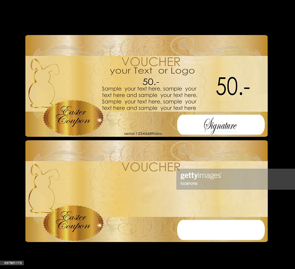 Eastern Gift certificate (voucher / coupon) : Stock Photo