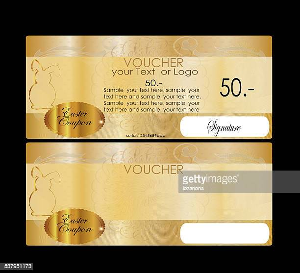 Eastern Gift certificate (voucher / coupon)