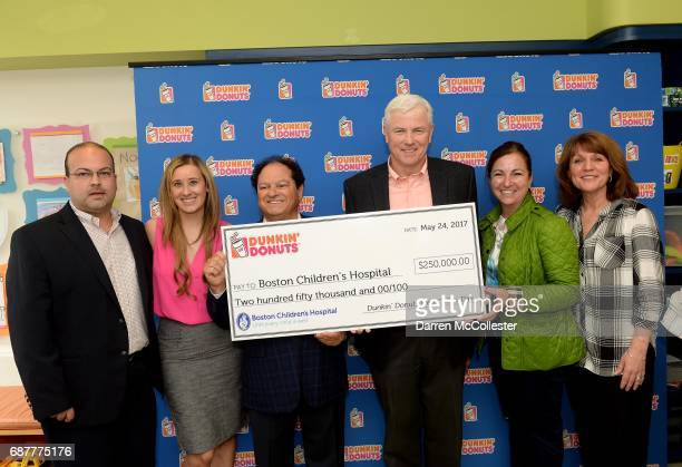 Eastern Massachusetts Dunkin' Donuts Franchisees Salvi Couto Monica MacFarlane Carlos Andrade Tom Adie Sue Andrade and Beth Donegan Director Child...