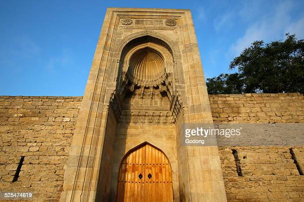 Eastern portal of Shirvanshahs palace complex in Baku Old City