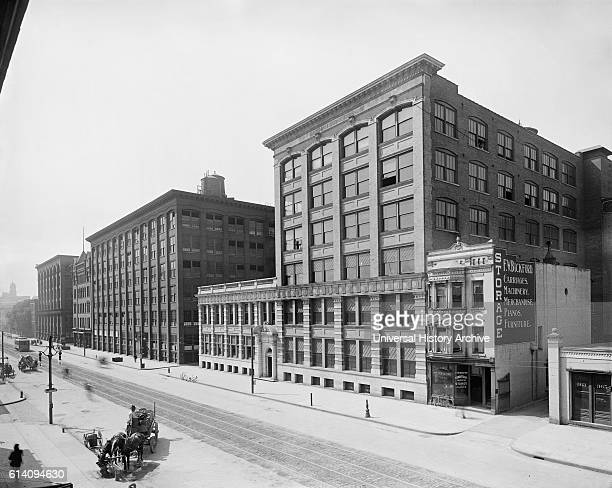 Eastman Kodak Company Factory and Main Office State Street Rochester New York USA circa 1910