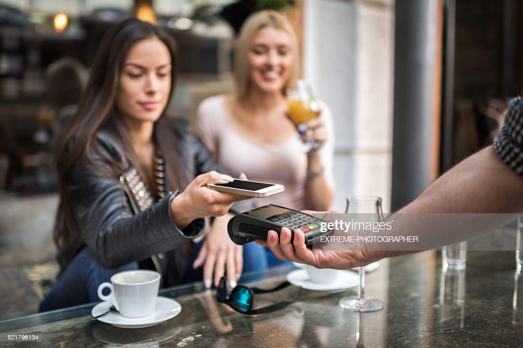 Un système de paiement sans contact : Photo