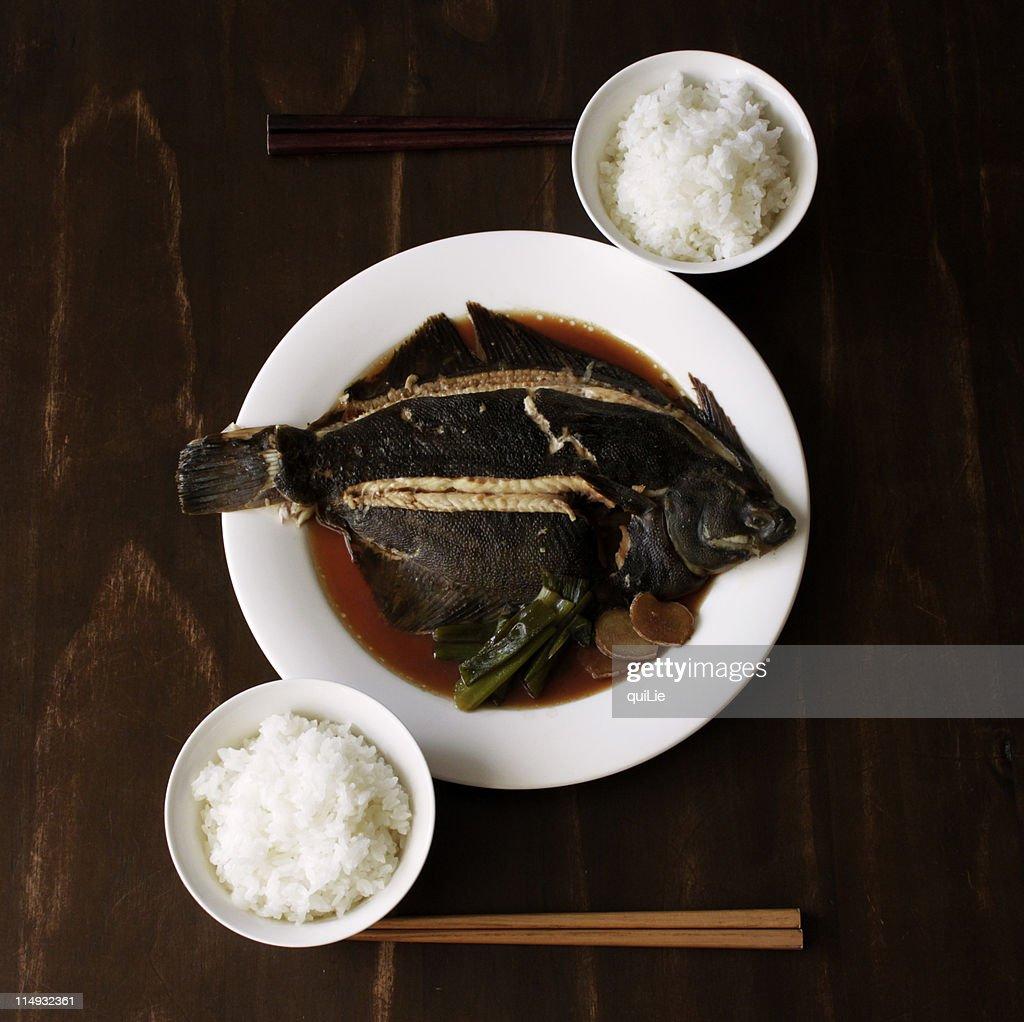 Eat fish : Stock Photo