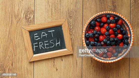 eat fresh : Stock Photo