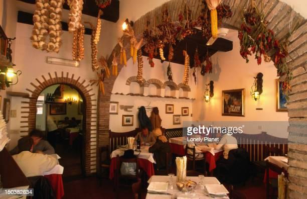 Eat lunch at old-fashioned Jewish Da Giggetto, Via Portico d'Ottavia 21-26.