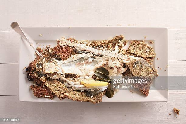 eaten fish meal with bones