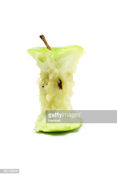 Eaten Green Apple