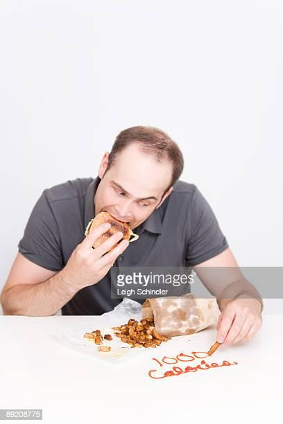 Eating Greasy Food