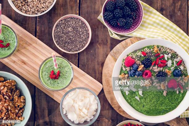 Eating Healthy Superfood Dishes