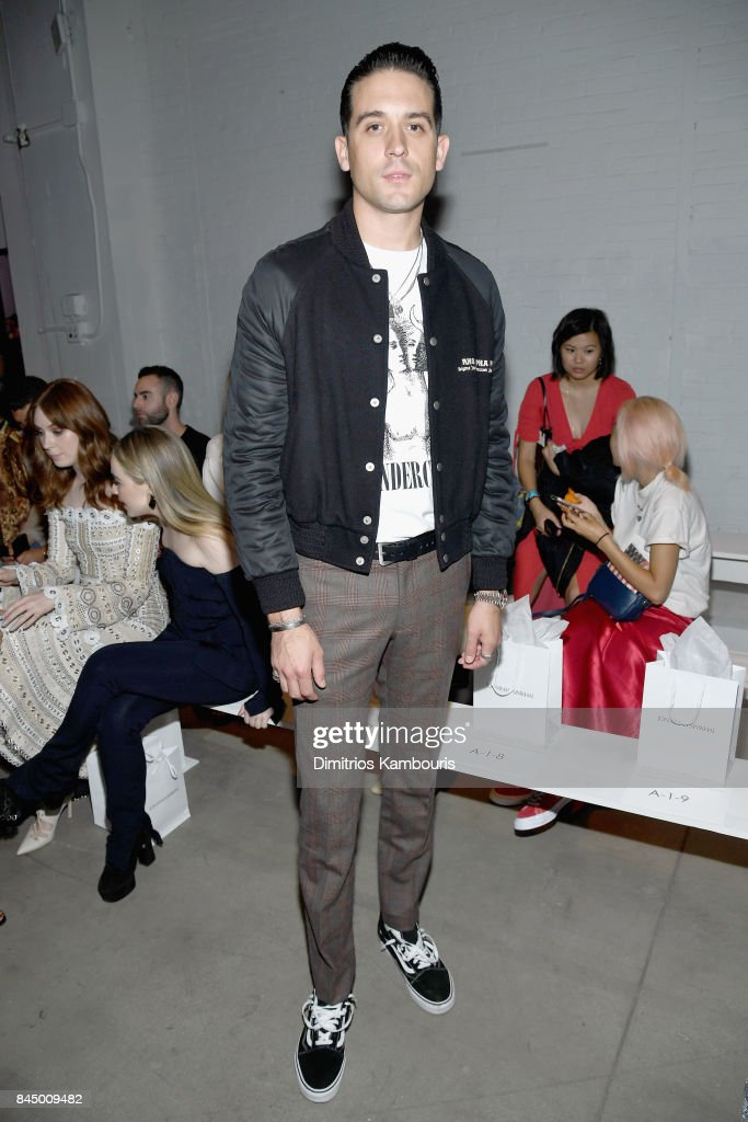 G Eazy attends the Jonathan Simkhai fashion show during New York Fashion Week: The Shows at Gallery 1, Skylight Clarkson Sq on September 9, 2017 in New York City.