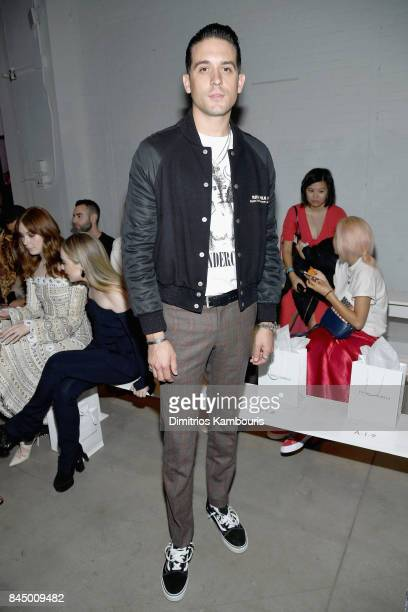 Eazy attends the Jonathan Simkhai fashion show during New York Fashion Week The Shows at Gallery 1 Skylight Clarkson Sq on September 9 2017 in New...