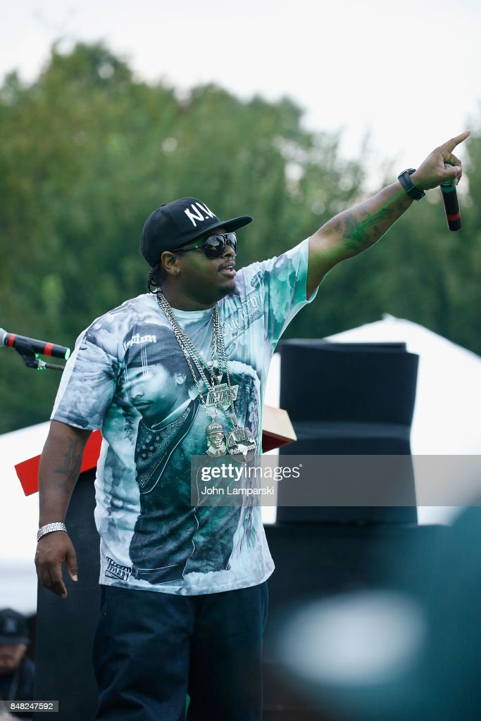 Eazy-E performs during the Juggalo March On Washington on September 16, 2017 in Washington, DC.