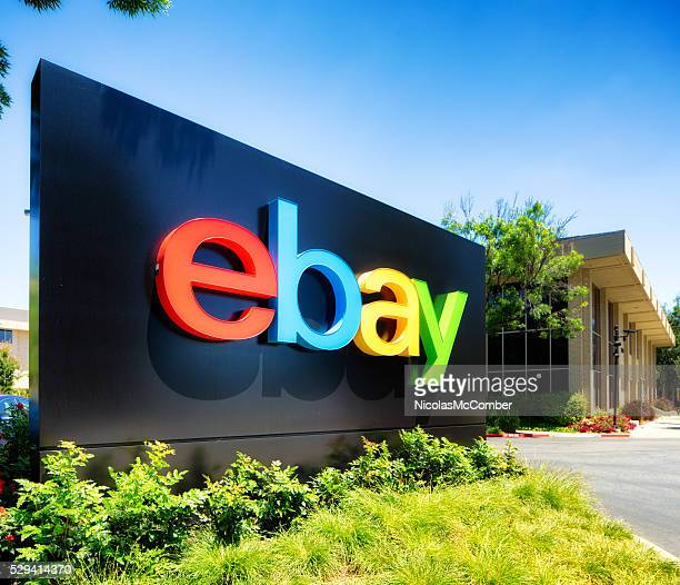 Ebay campus entrance sign San Jose California