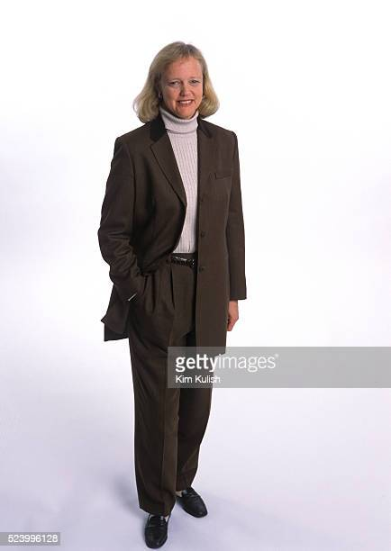 eBay Chief Executive Officer and President Meg Whitman poses at the headquarters of the online auction company in San Jose