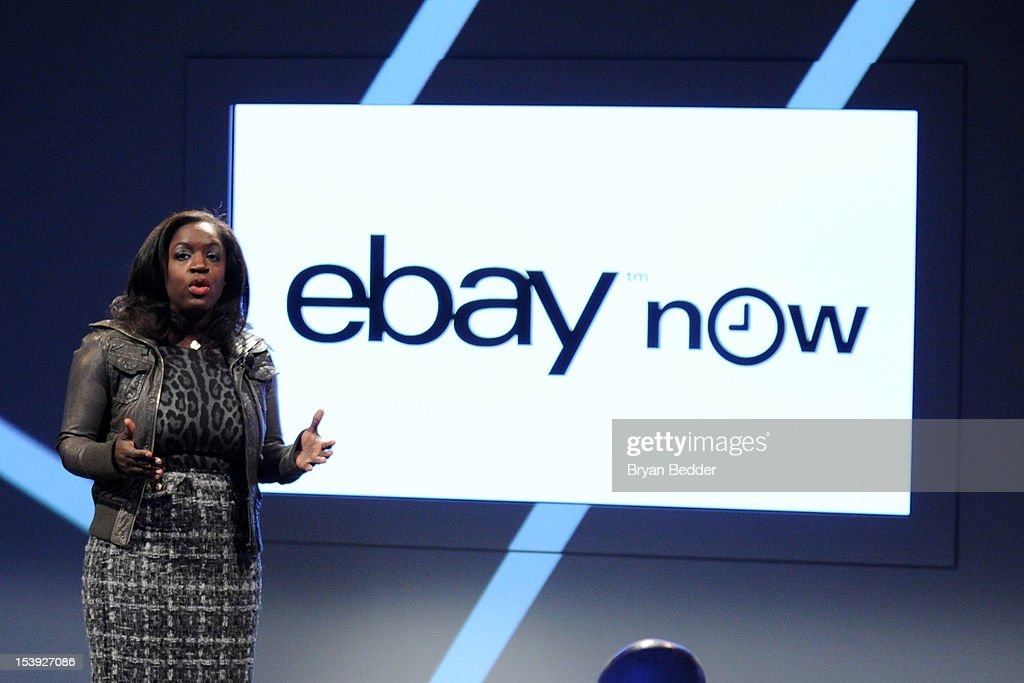 eBay Now, an app offering local delivery from multiple retailers in San Francisco, is highlighted as part of the new eBay by CMO Richelle Parham on October 10, 2012 in New York City.